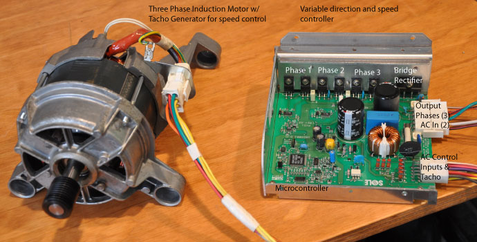 Reverse engineering for Three phase motor speed control